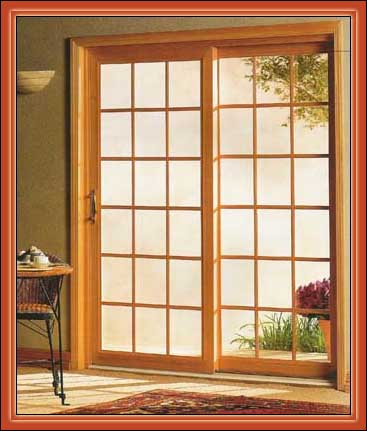 Replace sliding door with french doors for Sliding glass door to french door