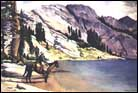 Marye Russell Roeser, western highsierrra painter